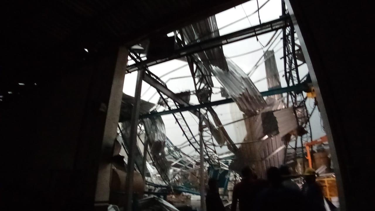 Forte tempestade causa destruição na cidade de Água Doce/SC. Veja imagens