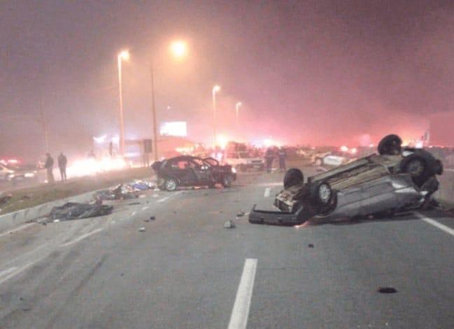 Tragédia na BR-277 deixa ao menos 7 mortos e 35 feridos no Paraná; vídeo
