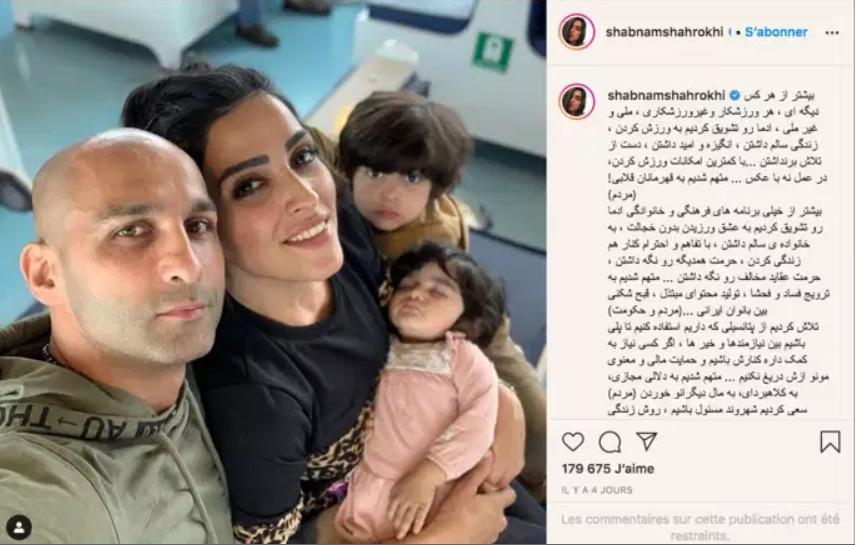 Campeão de kickboxing iraniano e sua esposa são condenados a 16 anos de prisão e 74 chibatadas por ela tirar véu em público