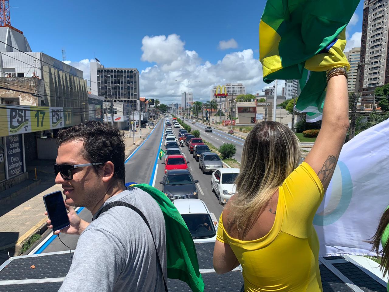 Natal terá carreata neste domingo 16/08 as 9 da manhã contra governo Fátima(PT) por ataque a Policial Militar