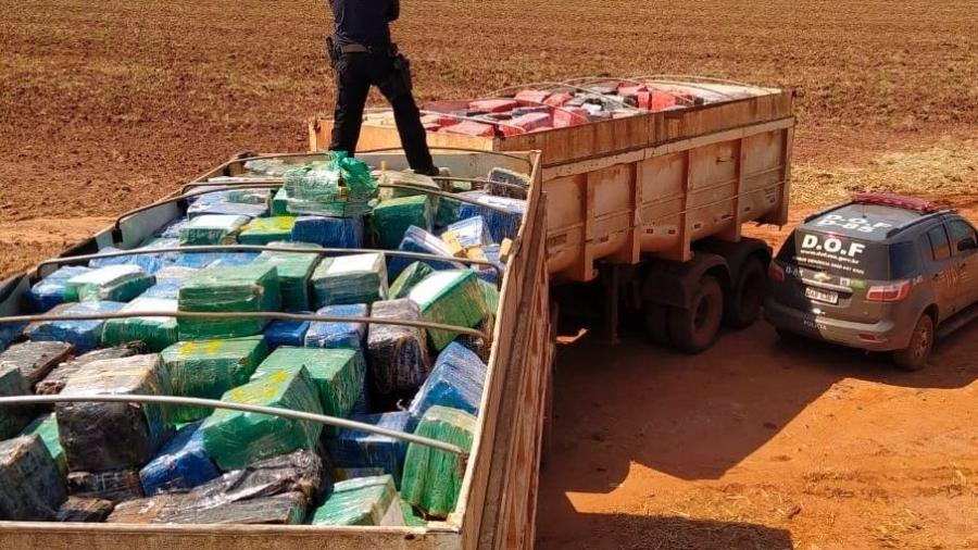 RECORDE: Polícia apreende 33 toneladas de maconha; apreensão é a maior já feita no Brasil