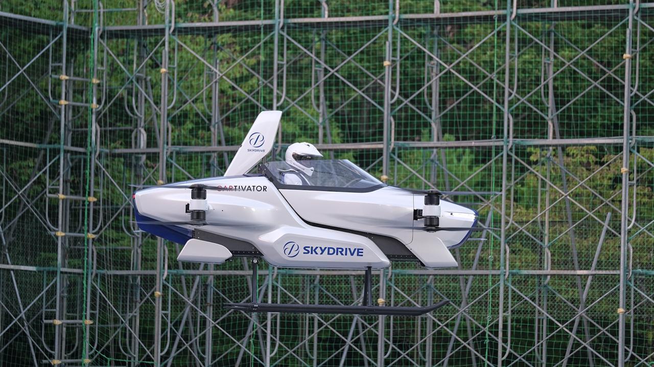 Carro voador japonês é aprovado em teste e será lançado em 2023