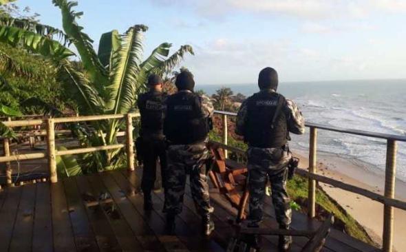 Operação do MP combate atividades de narcomilícia em praias do litoral Sul do RN