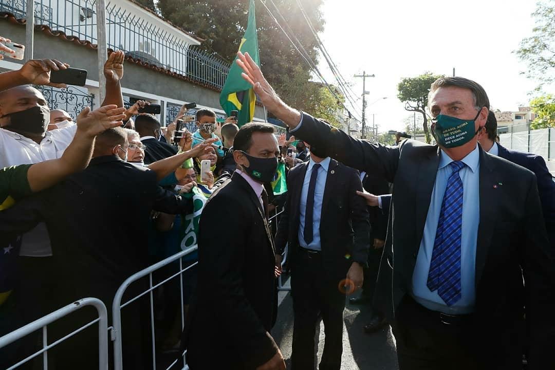Presidente Jair Bolsonaro cumpre promessa de campanha e inaugura Escola Cívico-Militar no Rio de Janeiro