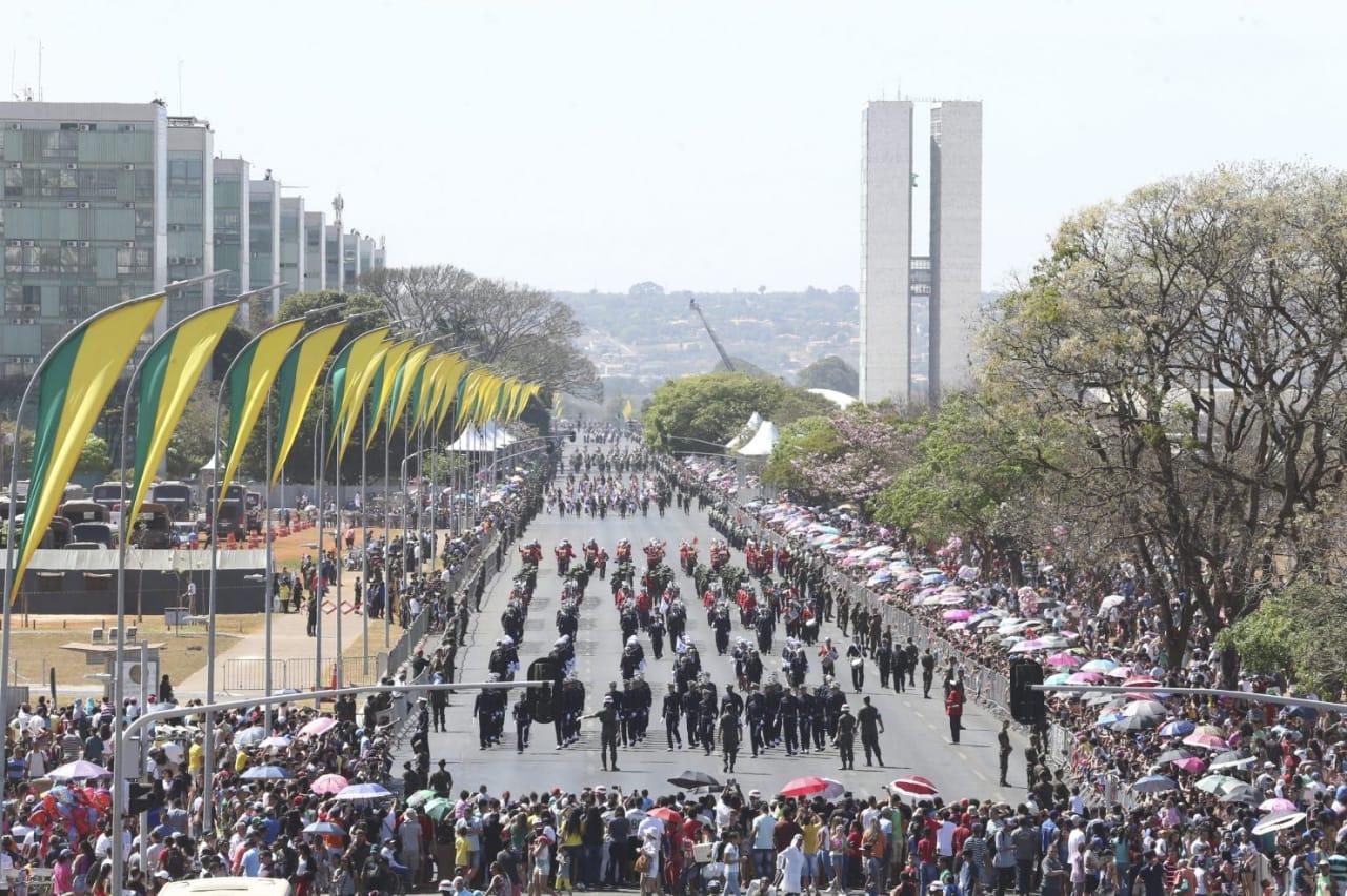 Desfile de 7 de setembro é cancelado pelo Ministério da Defesa