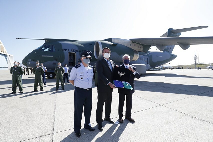Bolsonaro acompanhou envio de comitiva para missão no Líbano. Veja o vídeo da cerimônia