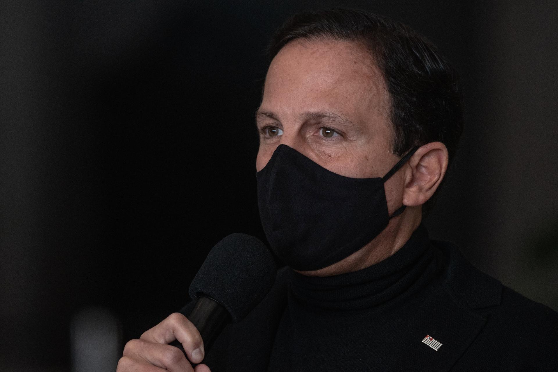 Doria deve decretar lockdown em todo o estado de São Paulo ainda nesta semana