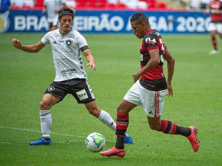 Com gols no fim, Flamengo e Botafogo acabam empatados
