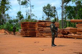 FORÇAS ARMADAS APREENDEM MAIS DE 8 MIL TONELADAS DE MINERAIS NA AMAZÔNIA