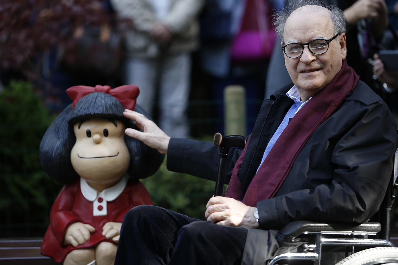 Morre Quino, cartunista criador da 'Mafalda'