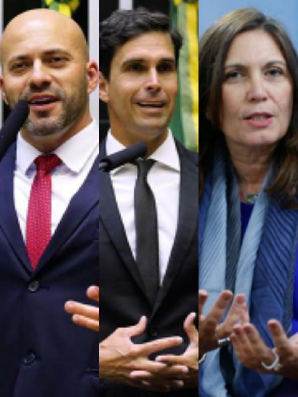 DEPUTADOS DANIEL SILVEIRA E BIA KICIS VÃO APOIAR CANDIDATO BOLSONARISTA NO RIO