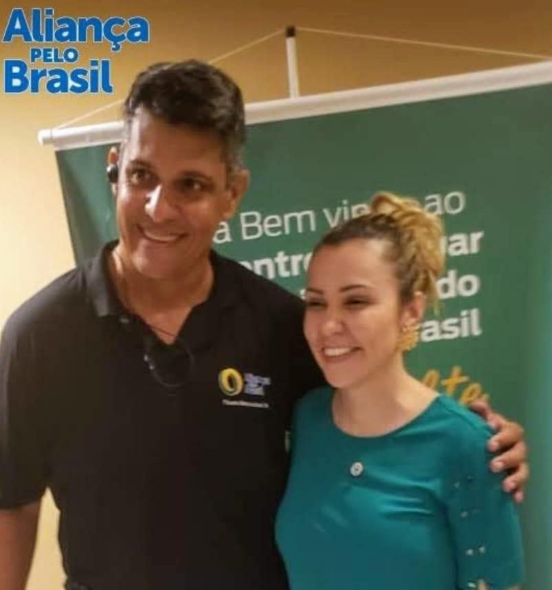 Advogada de Bolsonaro consolida apoio a candidato a vereador de Natal e um dos fundadores do Aliança Pelo Brasil