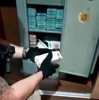 VÍDEO: Polícia investiga casa de presidente da Câmara de interior do Paraná