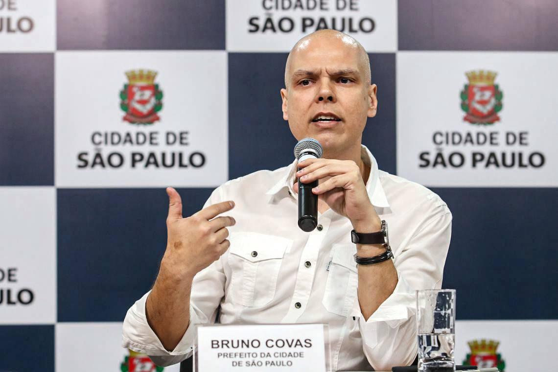 URGENTE: Bruno Covas tem sangramento no estômago e vai para a UTI