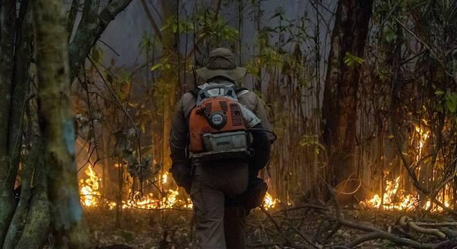 Força Nacional irá apoiar combate a incêndios no Pantanal