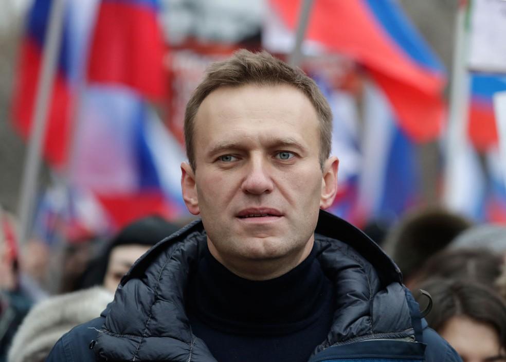 EUA entram em conflito com a Rússia por ações contra opositor de Putin