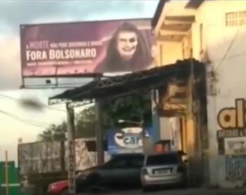 nx VÍDEO: PREFEITA DO PT DE MUNICÍPIO DA BAHIA PROÍBE OUTDOOR DE BOLSONARO MAS LIBERA OUTDOOR CHAMANDO O PRESIDENTE DE GENOCIDA