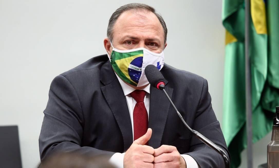 """Pazuello: """"Brasil já tem 300 milhões de doses de vacinas contra Covid-19 garantidas"""""""