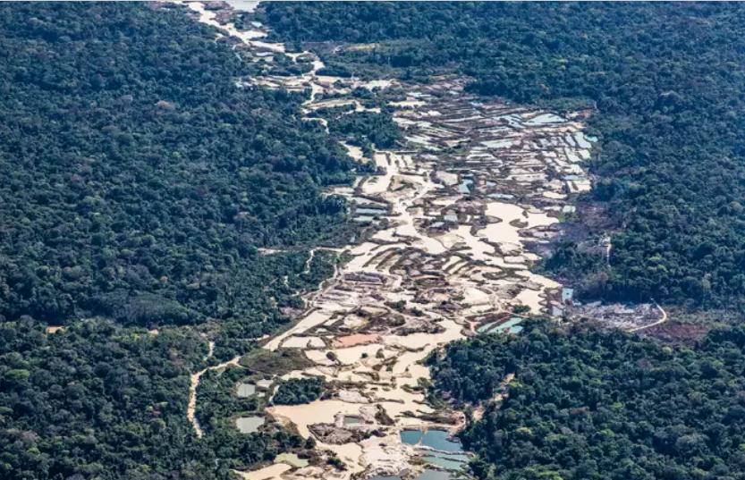 PF realiza megaoperação de três dias contra garimpo ilegal no Amazonas