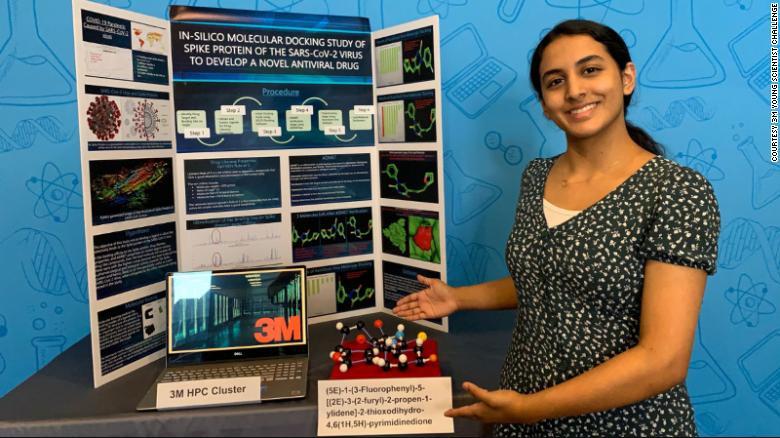 Menina de 14 anos faz descoberta que pode levar à cura da Covid-19