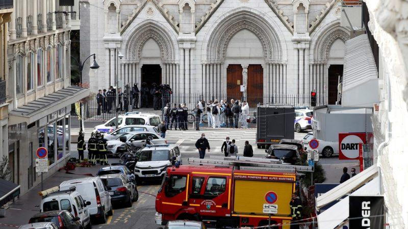 URGENTE: NOVO ATAQUE TERRORISTA NA FRANÇA DEIXA 3 MORTOS