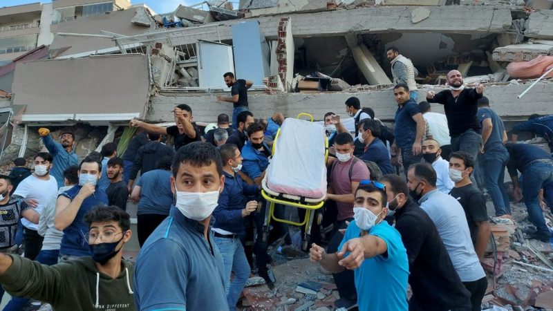 Total de mortos por terremoto na Turquia pode passar de 14