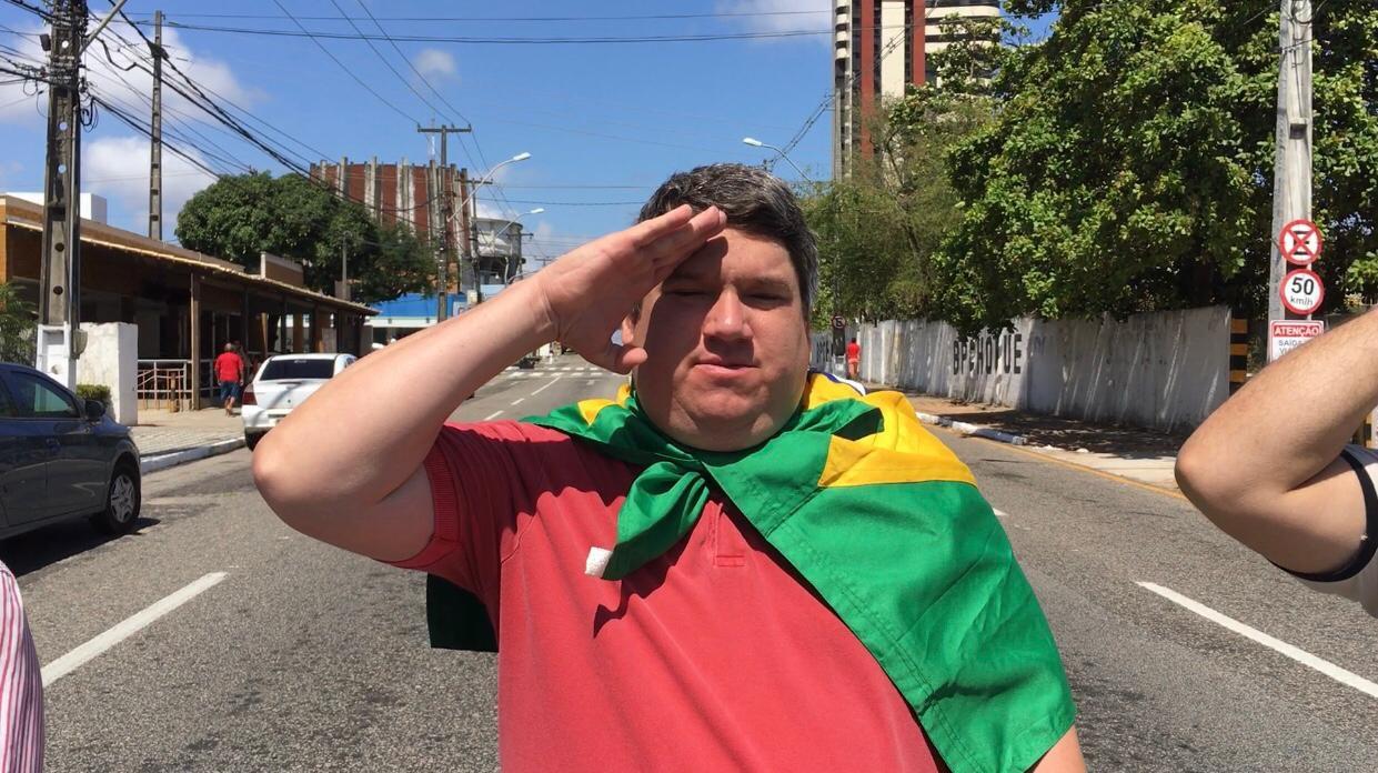 NATALENSE PATRIOTA COMERCIANTE AMIGO DE BOLSONARO, É CANDIDATO A VEREADOR