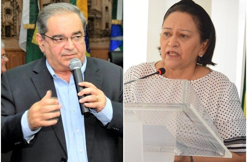 """GOVERNADORA FÁTIMA BEZERRA E PREFEITO ÁLVARO DIAS USAM DECRETOS DE COMBATE A PANDEMIA PARA TIRAR VANTAGENS EM """"GUERRA"""" POLITIQUEIRA"""