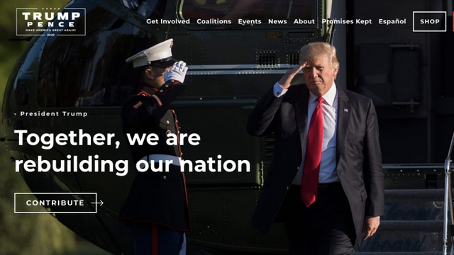 Terrorismo virtual: Site da campanha de Trump sofre ataque de hackers