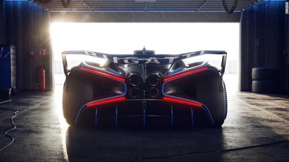 Bugatti apresenta carro que pode chegar a 480 km/h