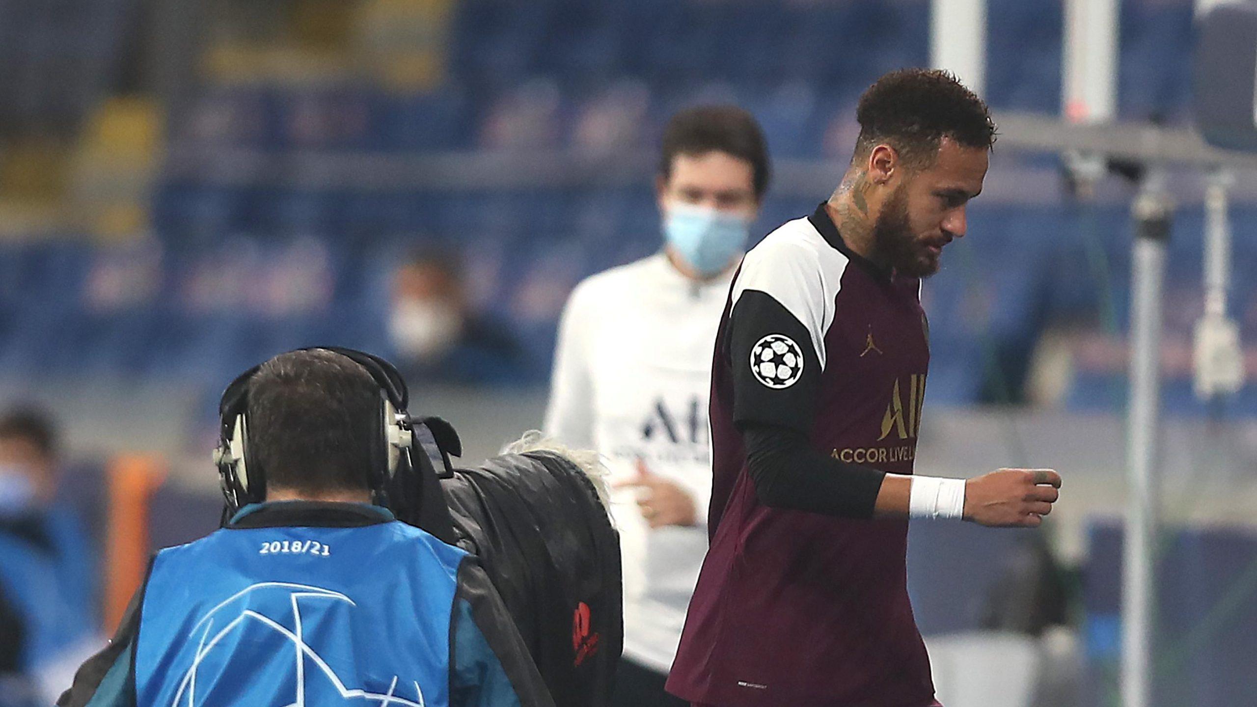 Neymar desfalca PSG por 3 jogos após lesão na Champions