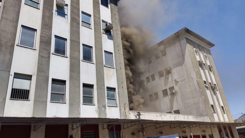Três morrem em incêndio em hospital no Rio de Janeiro