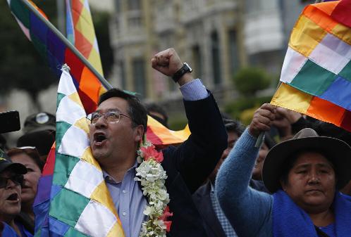 Presidente interina da Bolívia diz que partido de Evo Morales venceu eleição