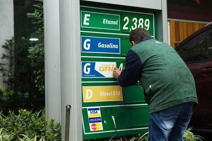 Petrobras reduz gasolina novamente, desta vez foram 5%
