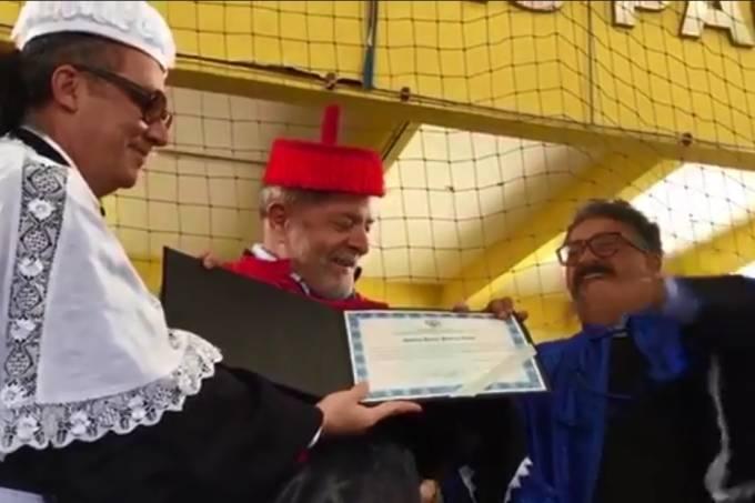 Justiça anula título honoris causa de Lula em universidade de Alagoas