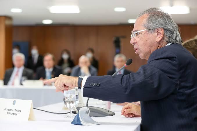 Paulo Guedes teve reunião hoje com vice-presidente da Huawei para falar sobre implantação da Tecnologia 5G no Brasil