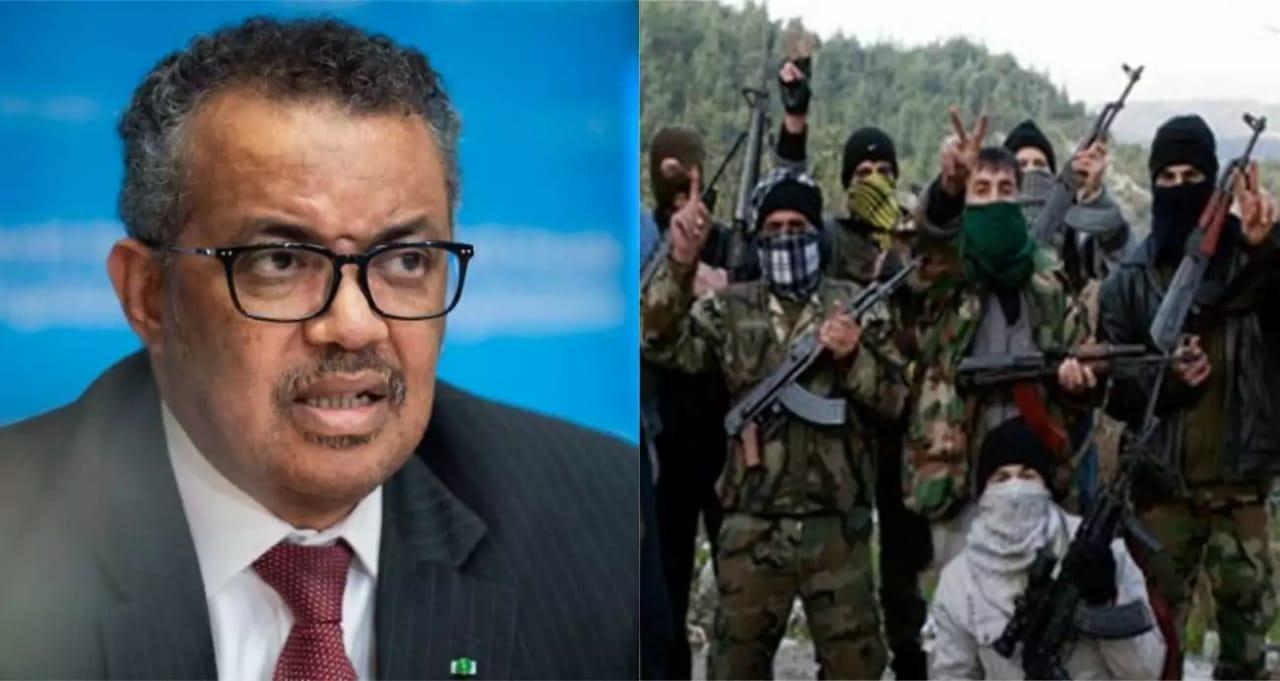 DIRETOR DA OMS, TEDROS ADHANOM, É SUSPEITO DE FORNECER ARMAS A GRUPO REBELDE NA ETIÓPIA