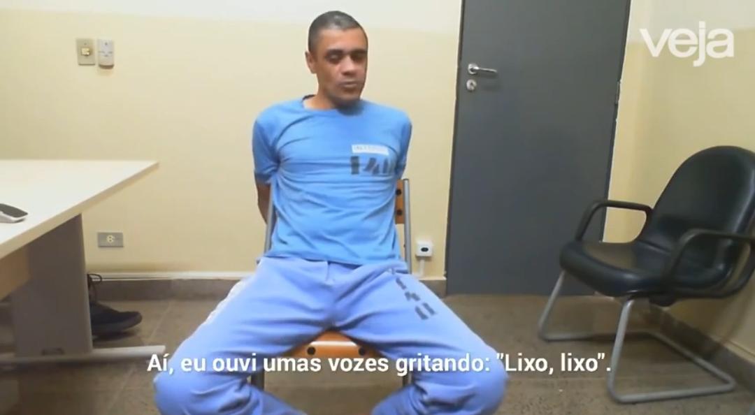 """VÍDEO URGENTE: VAZA DEPOIMENTO DE ADÉLIO BISPO, IMPRESSIONANTE A FRIEZA; """"estive perto de Carlos Bolsonaro mas ainda não era hora"""""""