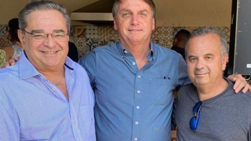 Amigos: Bolsonaro vai a comemoração pelo aniversário do Ministro Rogério Marinho
