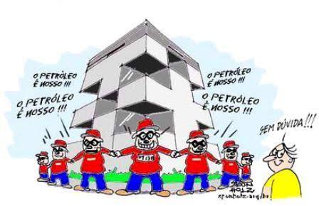 Presidente da Petrobras disse que empresa estava nas mãos de bandidos