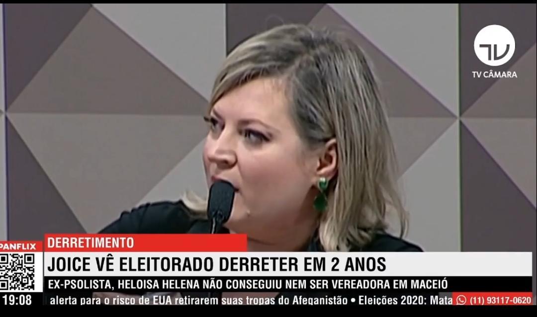OS VOTOS ERAM DE BOLSONARO: JOICE HASSELMANN PASSA VERGONHA NA ELEIÇÃO DE SÃO PAULO; VEJA VÍDEO