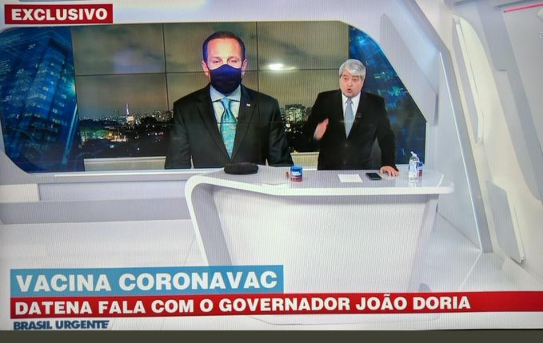 Datena revela que Doria recusa entrevistas ao seu programa e detona governador: 'Narcisista'