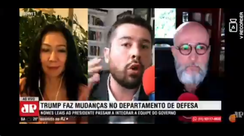 JOSIAS DE SOUZA É REPREENDIDO AO VIVO NA JOVEM PAN POR DAR VITÓRIA ANTECIPADA A BIDEN; VEJA VÍDEO