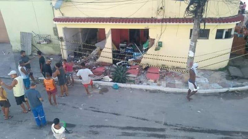 Criança morre vítima de explosão de botijão de gás no RJ