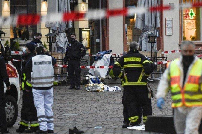 Tragédia: Quatro pessoas são mortas e pelo menos 30 ficam feridas após atropelamento na Alemanha