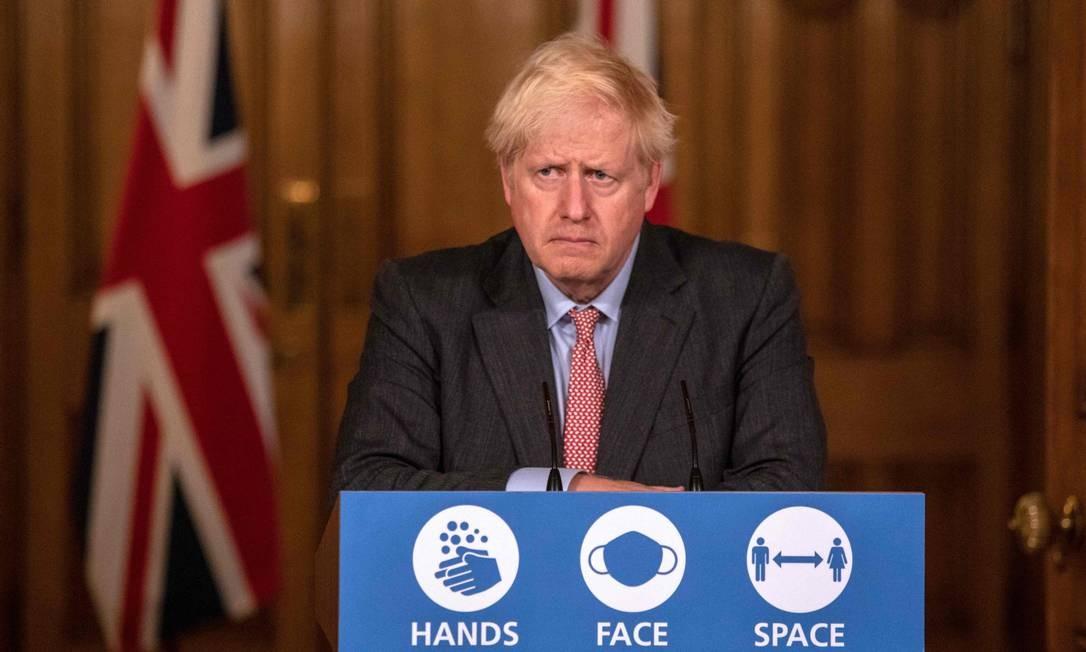 Variante britânica da Covid-19 pode ser mais mortal, afirma Boris Johnson
