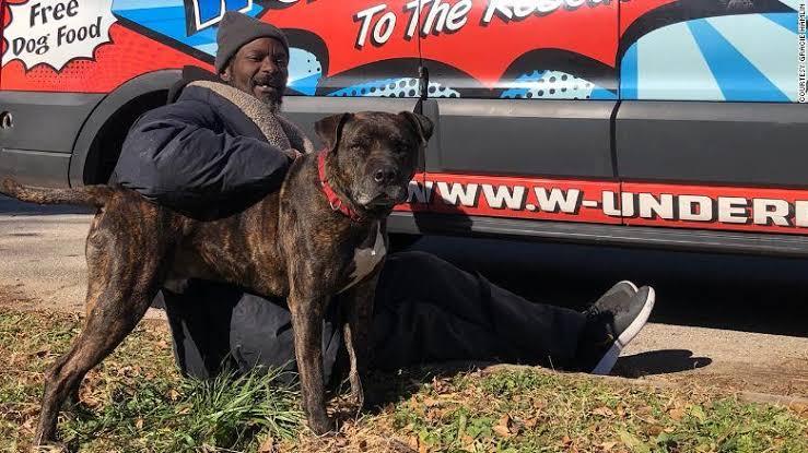 Morador de rua resgata todos os animais de um abrigo após incêndio