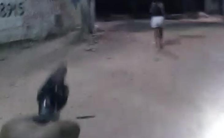 Impressionante: matadores vão executar uma mulher e erram todos os tiros, VEJAM O VÍDEO
