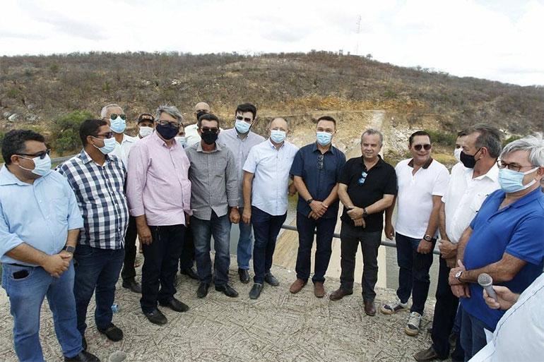 Ministro Rogério Marinho visita RN e assina Ordem de Serviço de recuperação da Barragem Passagem dos Traíras; investimento foi de R$ 11,1 milhões