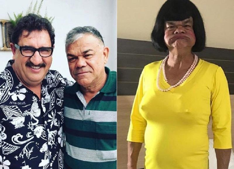 Humorista Rodela, do Programa do Ratinho, morre aos 66 anos